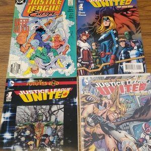 Justice League Comic Book Lot